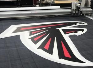 Falcons logo printout