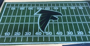 Falcons football field mat