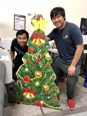 Retail Christmas Tree