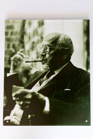 Well-dressed man with cigar
