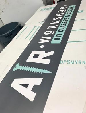 AR Workshop Retail Display